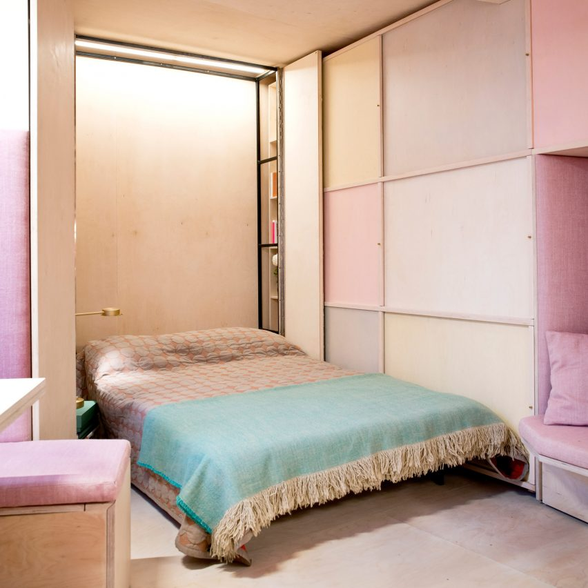 10 of the tiniest bedrooms from Dezeen\'s Pinterest boards