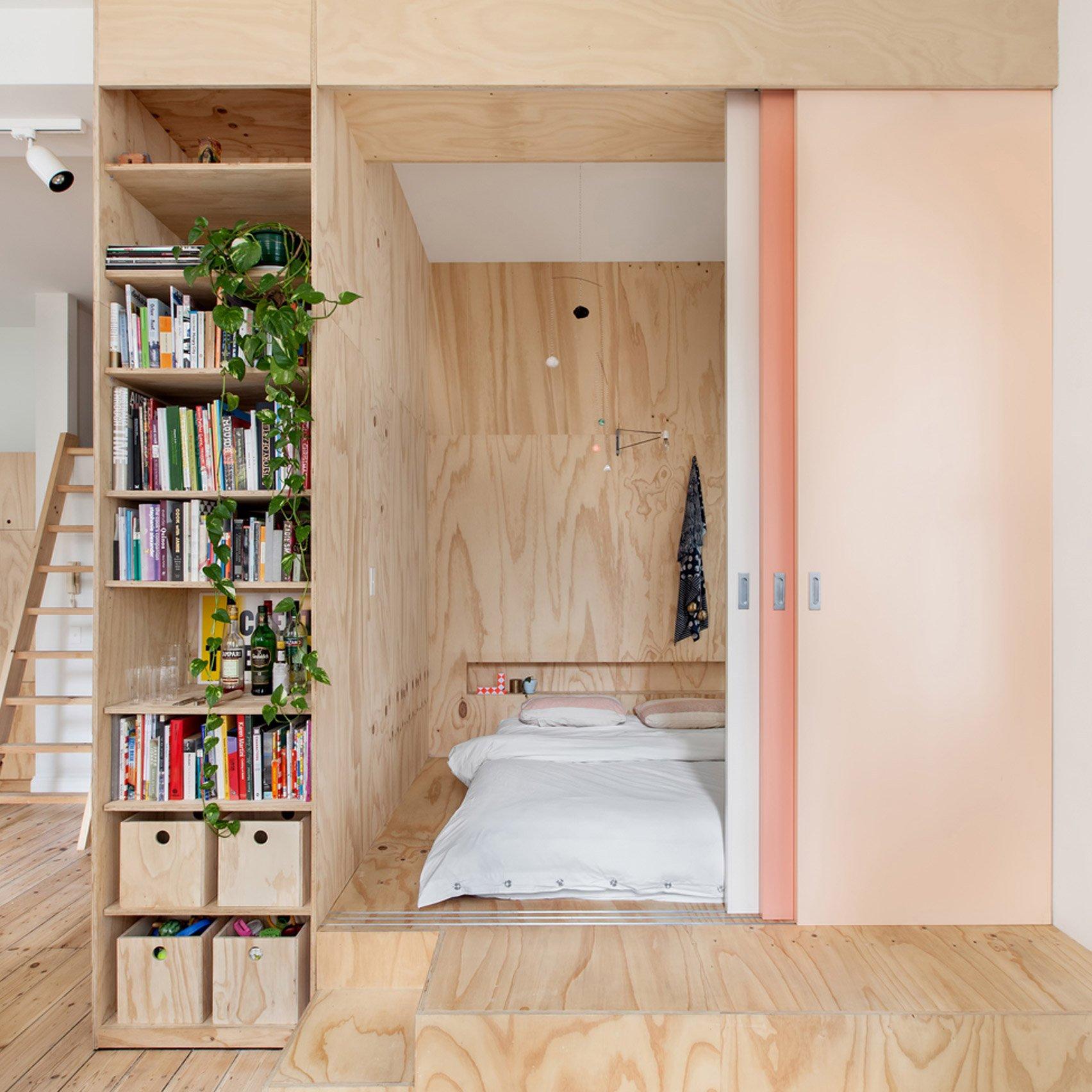 10 of the tiniest bedrooms from Dezeen's Pinterest boards