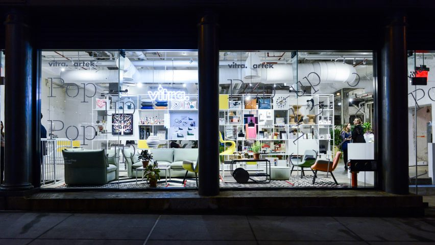 Vitra pop-up, New York