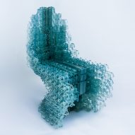 Robot-made Voxel chair designed using new software by Bartlett researchers