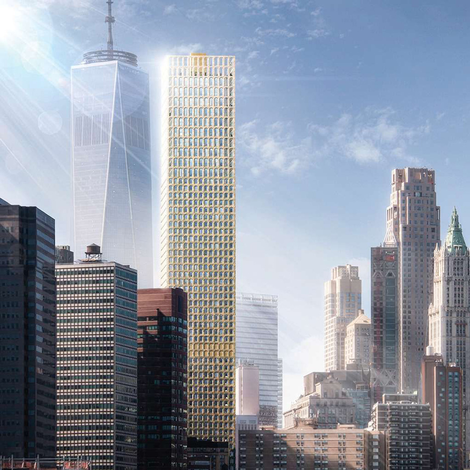 Images of New York skyscraper by David Adjaye leaked