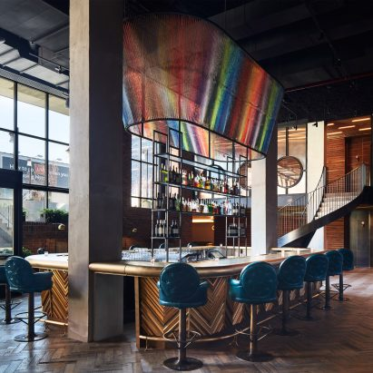 The Williamsburg Hotel by Michaelis Boyd Associates