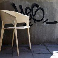 Wooden chair by Claesson Koivisto Rune