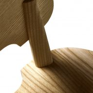 Wooden chair by Claesson Koivisto Rune