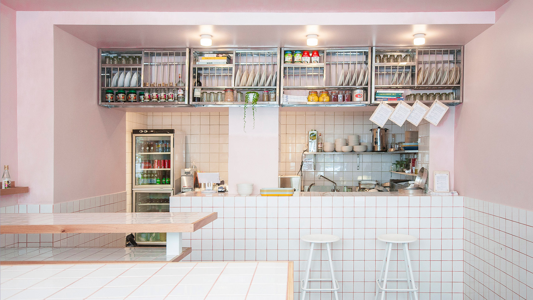 Joyful Chaos Inspires Design Of Yafo Hummus Deli In Paris