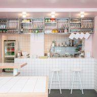 """Joyful chaos"" inspires design of Yafo hummus deli in Paris"