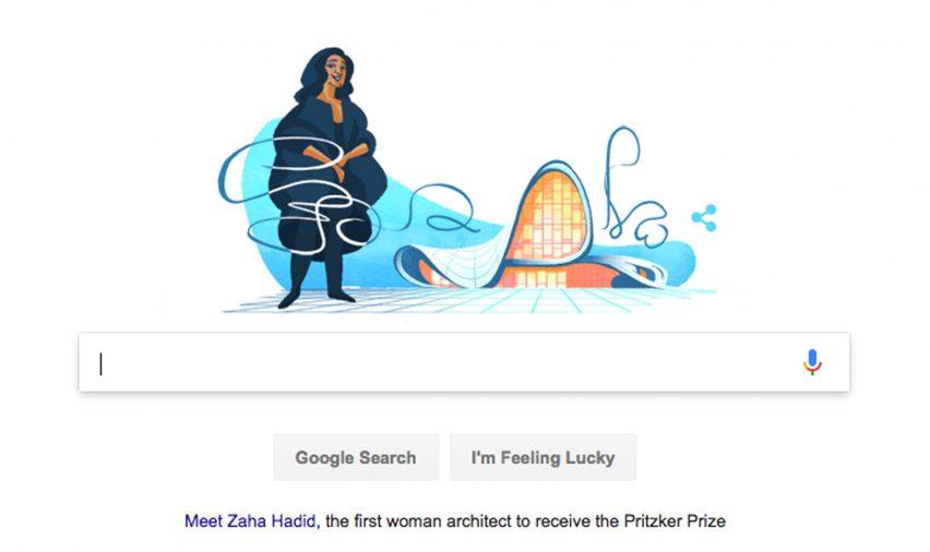Zaha Hadid Design Concepts And Theory google doodle remembers zaha hadid's 2004 pritzker prize win