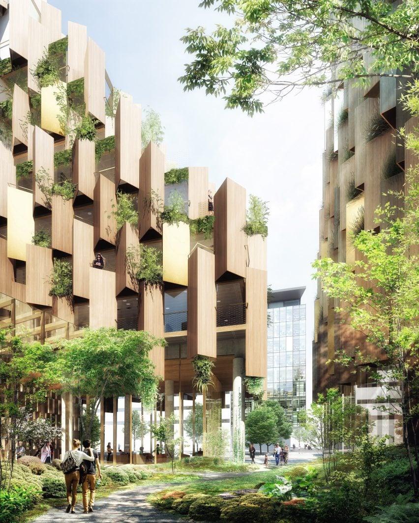 Eco-luxury 1hotel de Kengo Kuma