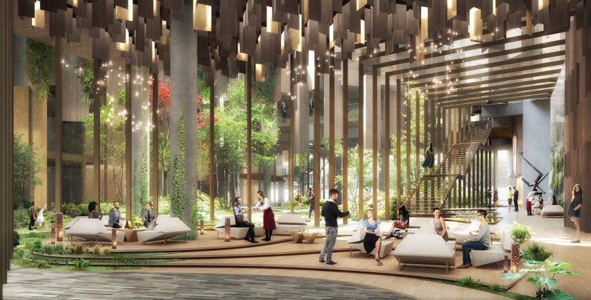 Eco-luxury 1hotel by Kengo Kuma