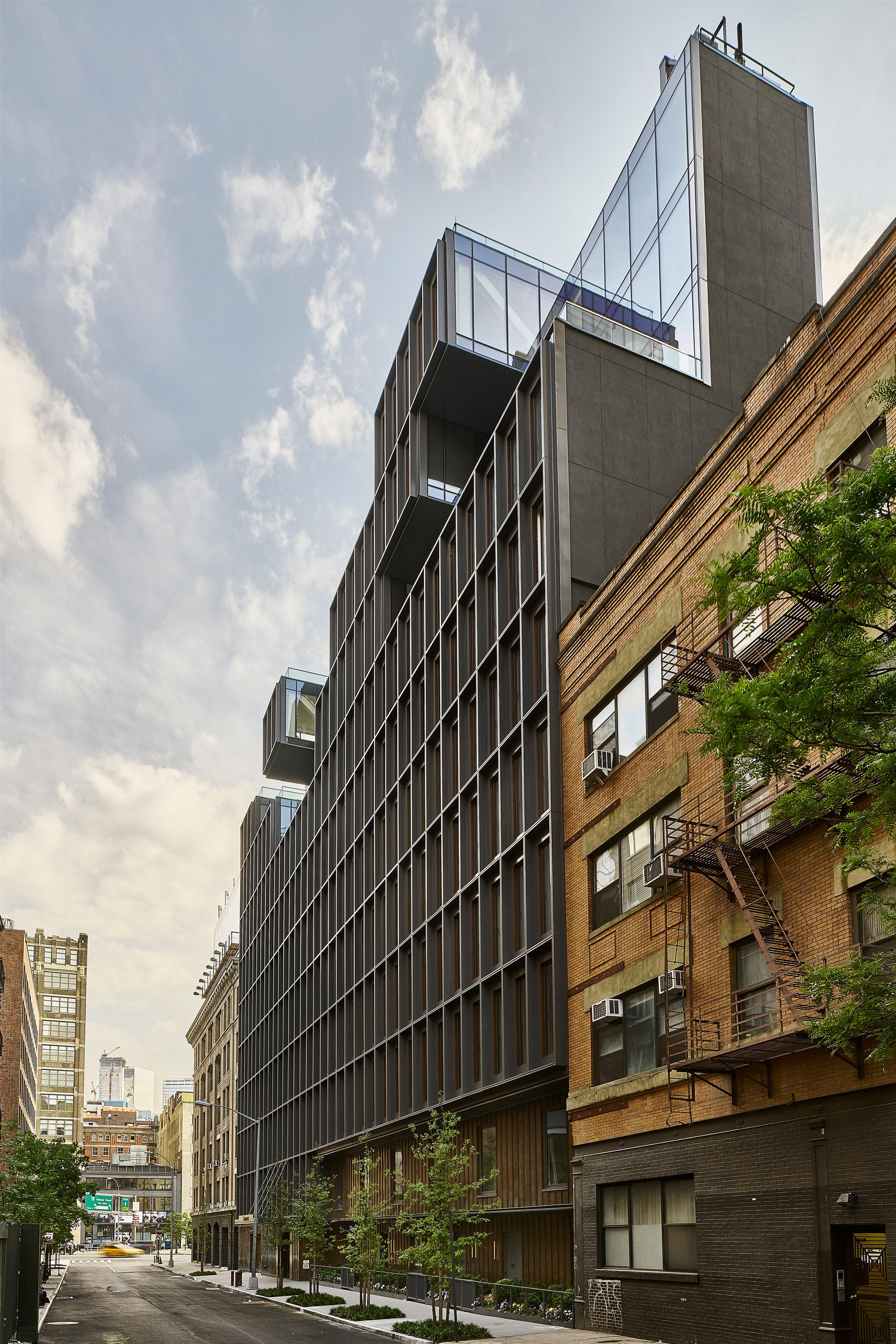 ODA creates thick gridded facade for Manhattan condo building