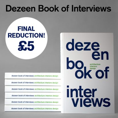 Dezeen Book of Interviews only £5