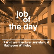 Job of the day: Part-II architectural assistant at Matheson Whiteley