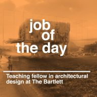 Job of the day: teaching fellow in architectural design at The Bartlett