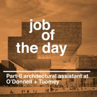 Job of the day: Part-II architectural assistant at O'Donnell + Tuomey