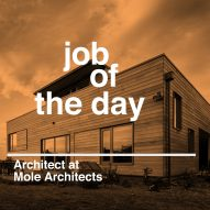 Job of the day: architect at Mole Architects