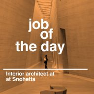 Job of the day: interior architect at Snøhetta