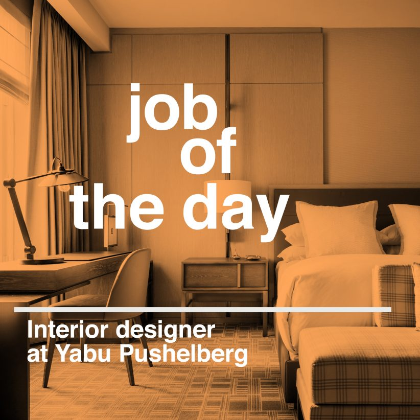 Job Of The Day Interior Designer At Yabu Pushelberg