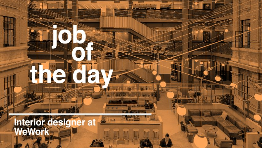 Job Of The Day Interior Designer At Wework In Bangalore India