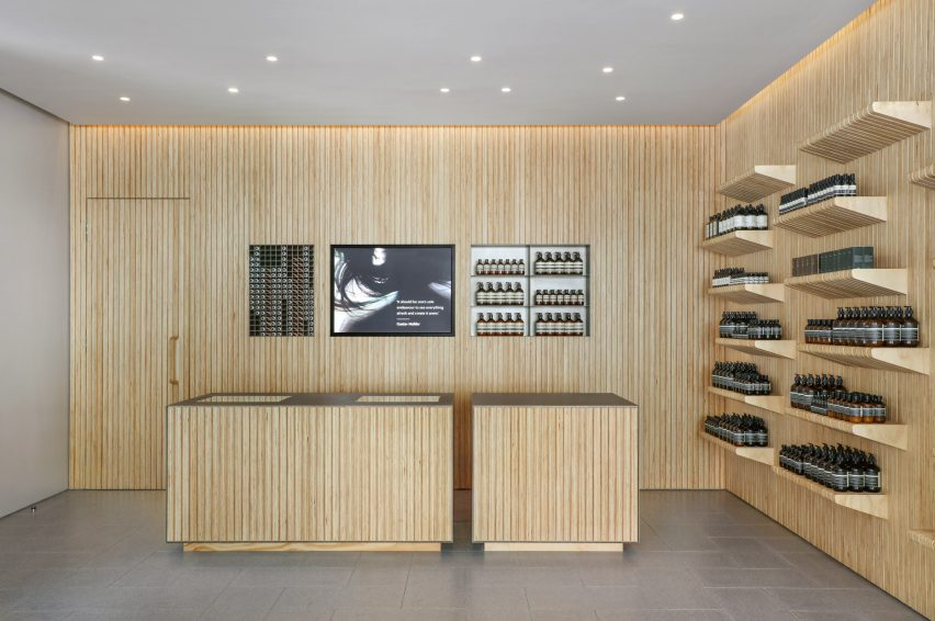 Aesop UWS by Tacklebox Architecture