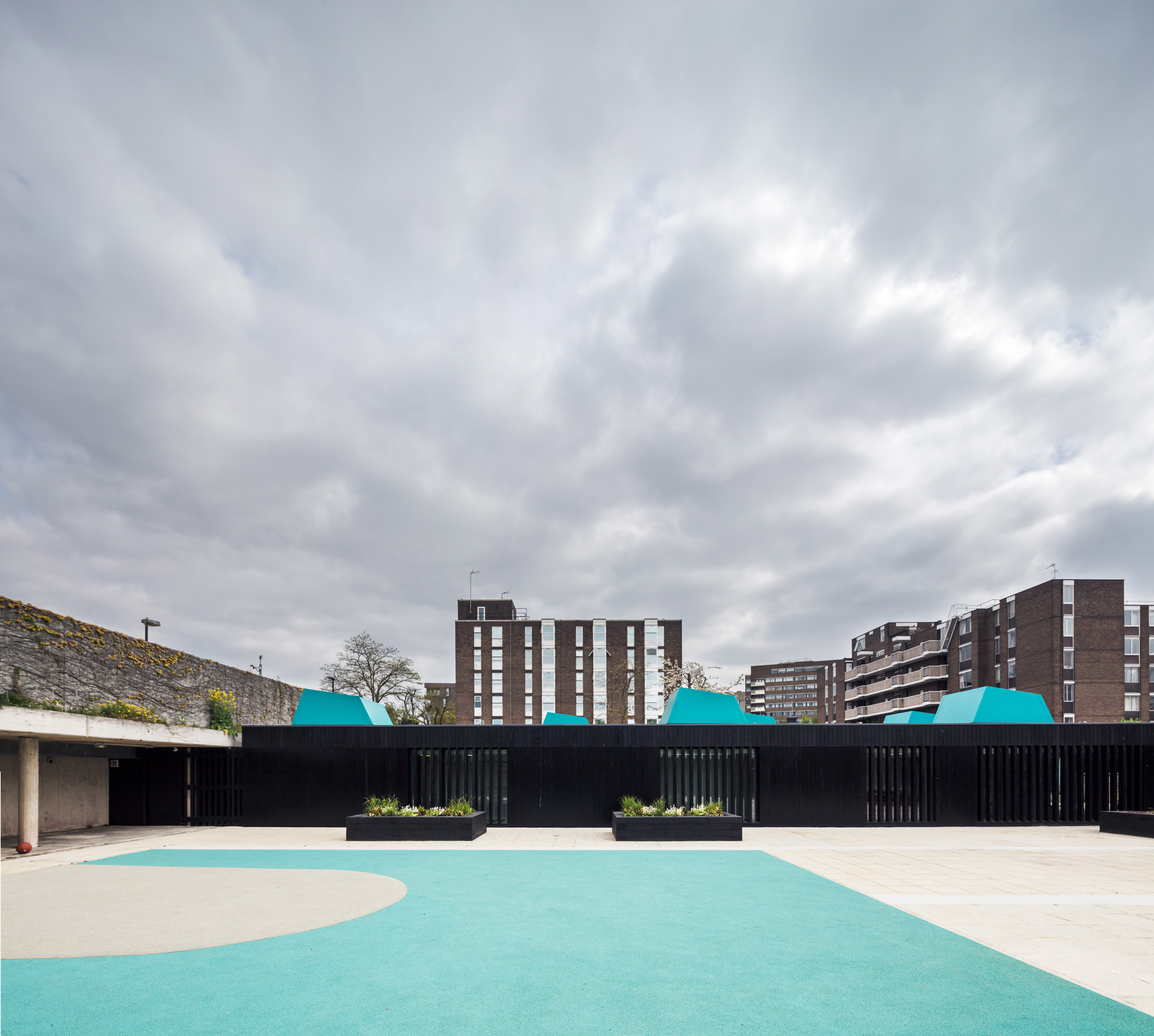 Haverstock extends school on London's modernist Alexandra Road Estate