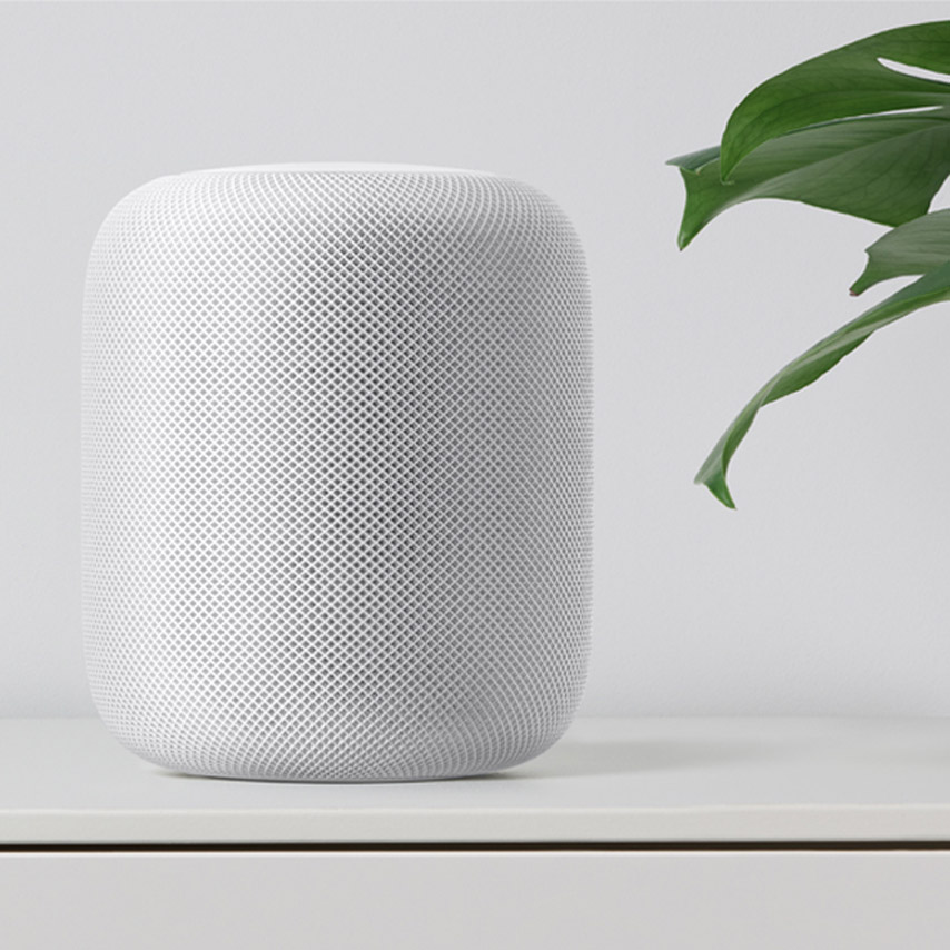 "Apple unveils ""breakthrough home speaker"" to rival Amazon and Google"