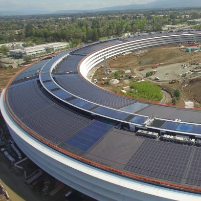 Apple Park by Foster + Partners nearing completion