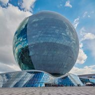 Architects unveil energy-themed pavilions at Astana Expo 2017