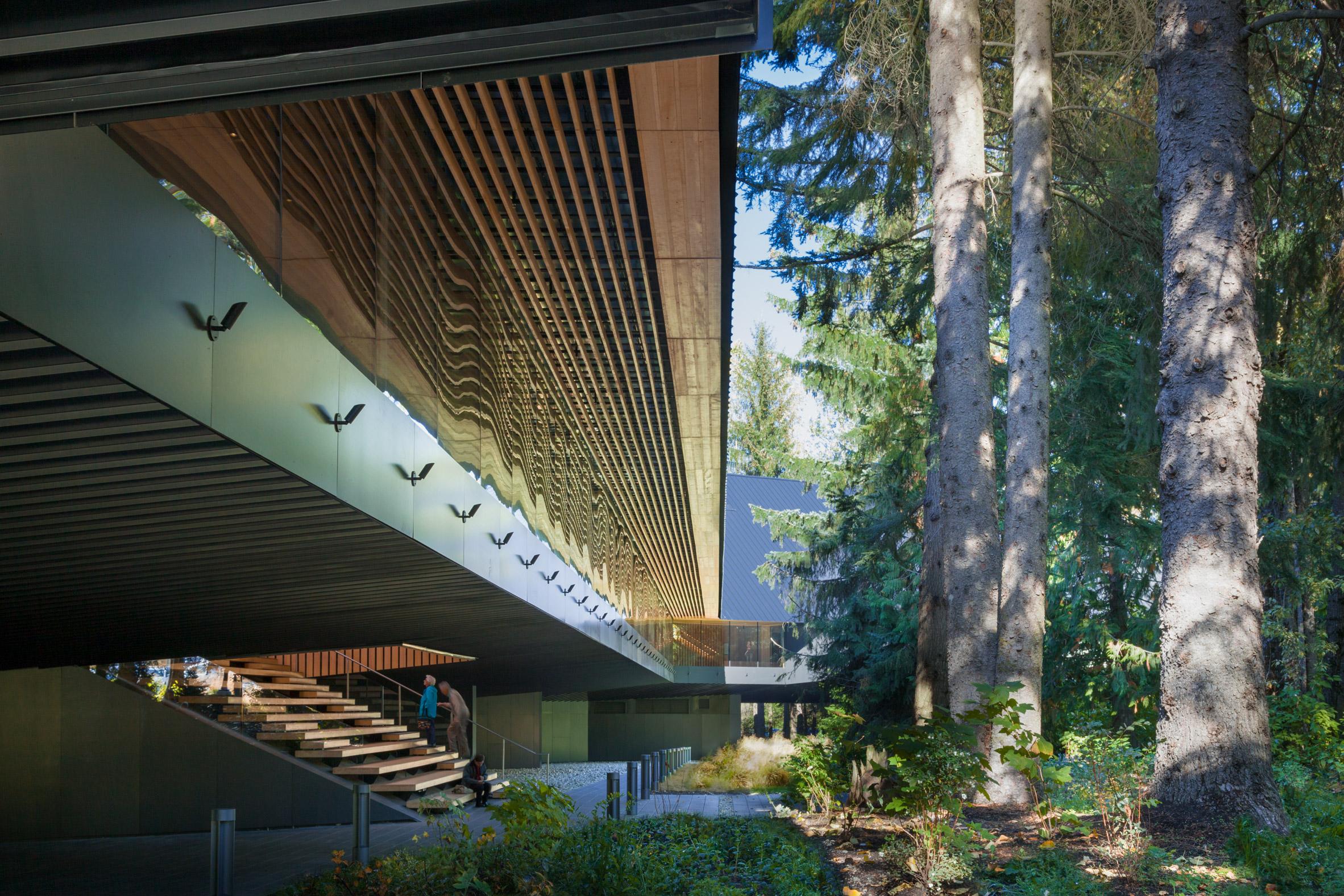Audain Art Museum by Patkau Architects