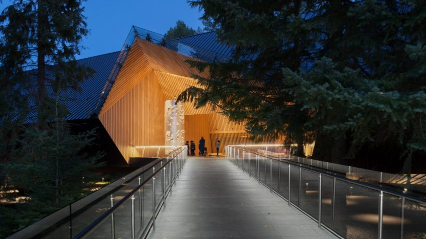 Audain Art Museum by Patkau Architects