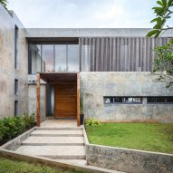Jun Sekino completes Bauhaus-inspired beach house in eastern Thailand