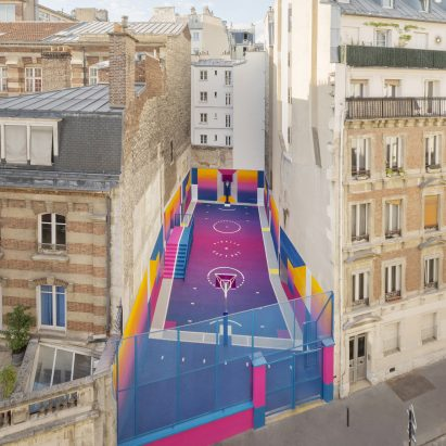 Basketball Courts Dezeen