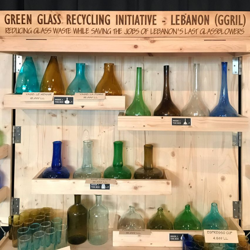 Green Glass Recycling Initiative Lebanon