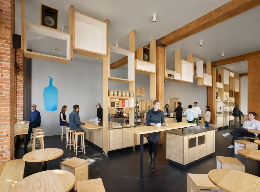 Blue Bottle by Bohlin Cywinski Jackson