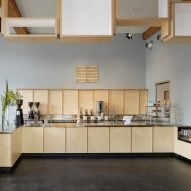 Bohlin Cywinski Jackson creates Blue Bottle coffeeshop within historic San Francisco building