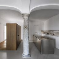 Groin-vaulted ceiling takes centre stage in revamped 18th-century property