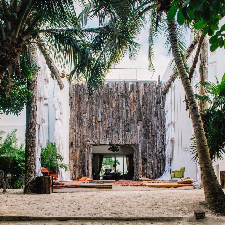 Casa Malca Hotel, Tulum, Mexico
