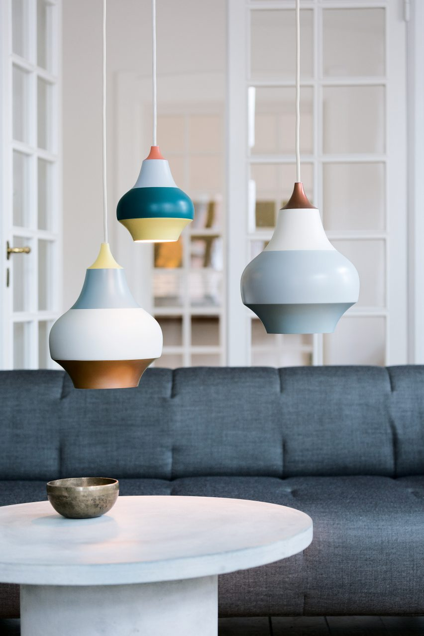 Cirque lamps by Louis Poulsen