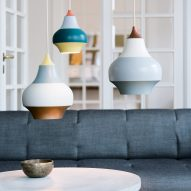 Clara von Zweigbergk's colourful lamps recall hot air balloons and carousels
