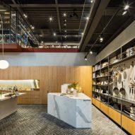 Blacksheep Design Studio complete Hyundai Cooking Library in Seoul
