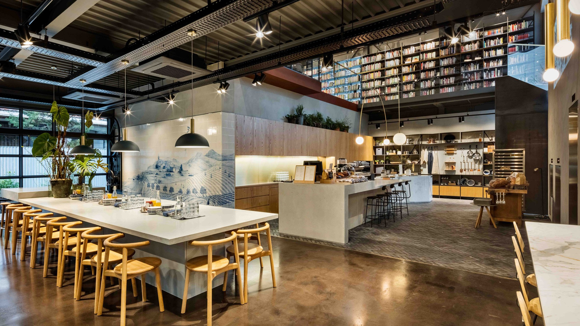 blacksheep bases experiential cooking library in seoul on european