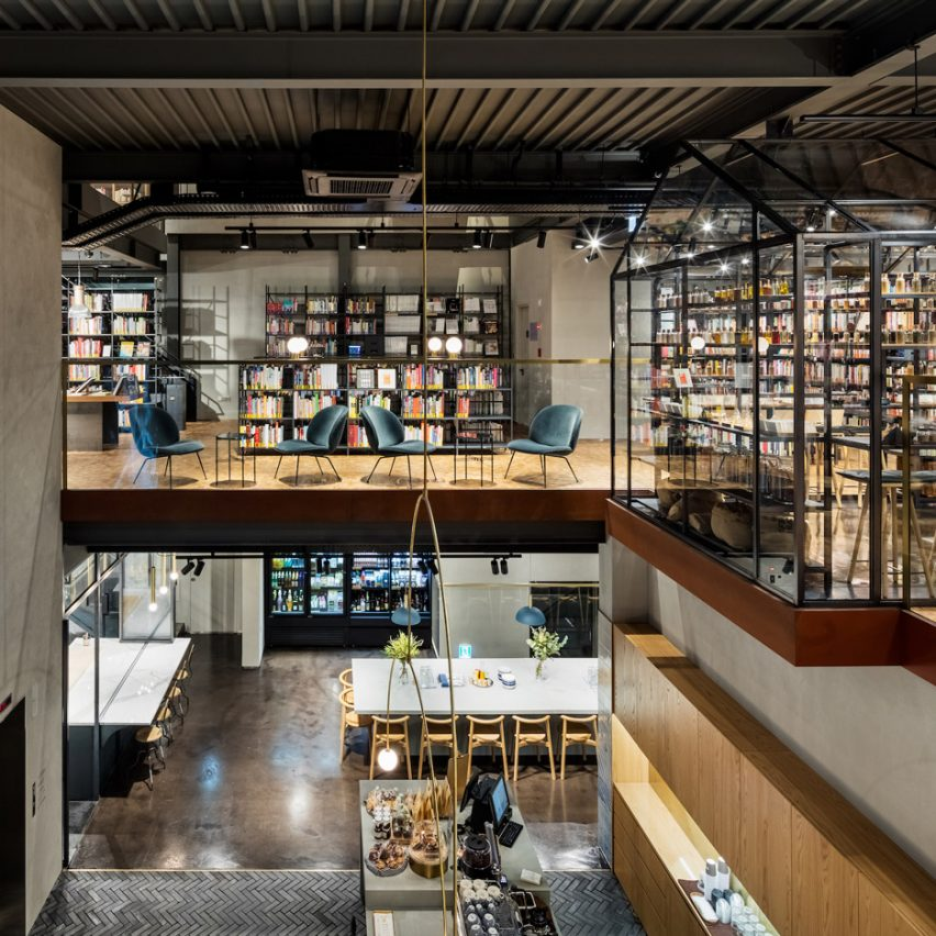 Blacksheep bases experiential cooking library in seoul on for Home library designs interior design