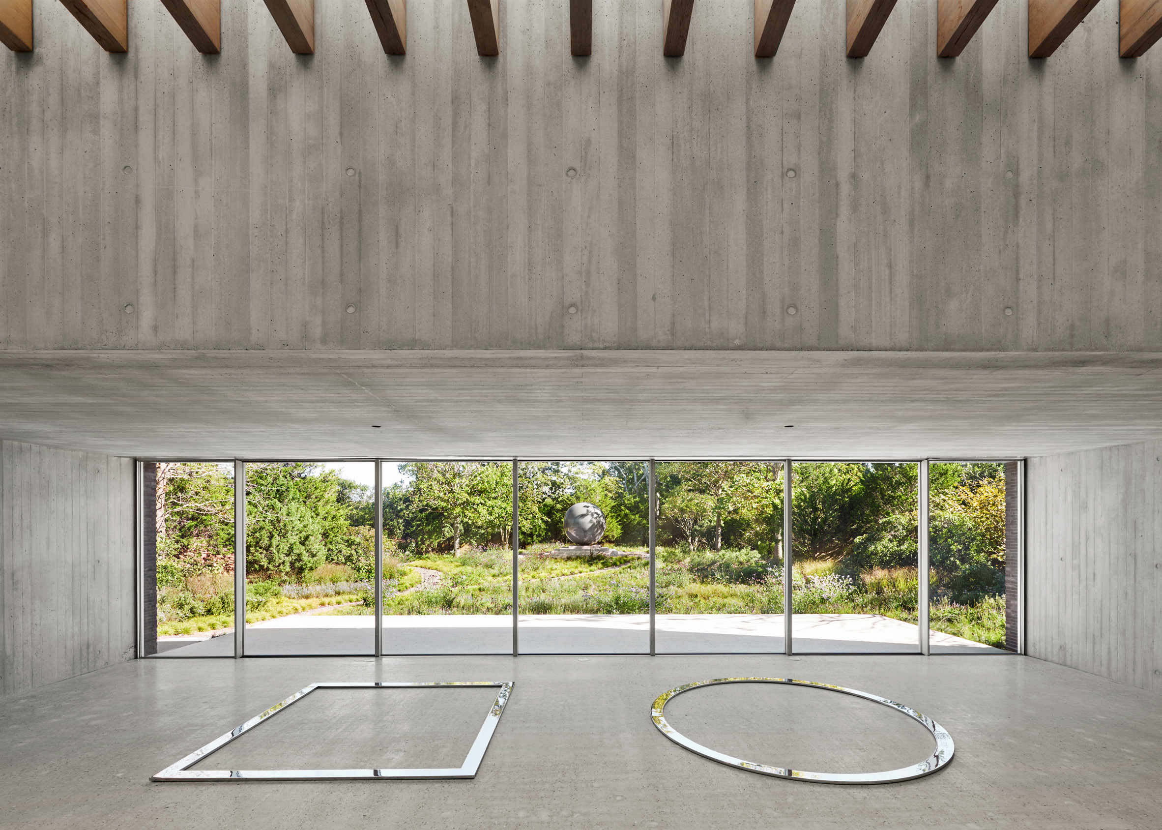 De Maria Pavilion, Bridgehampton, New York, by Gluckman Tang Architects