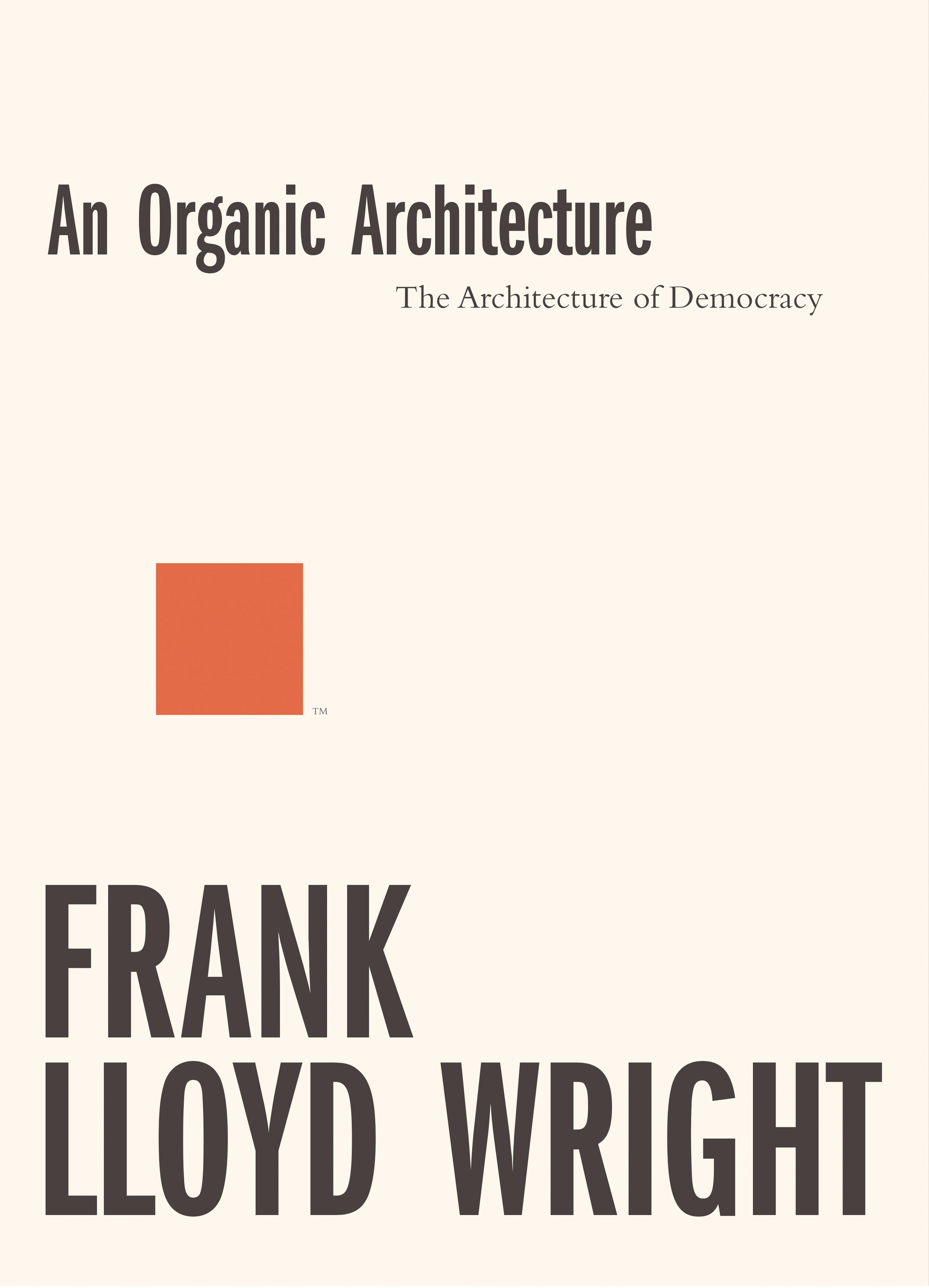 Competition: win two books that celebrate the career of Frank Lloyd Wright