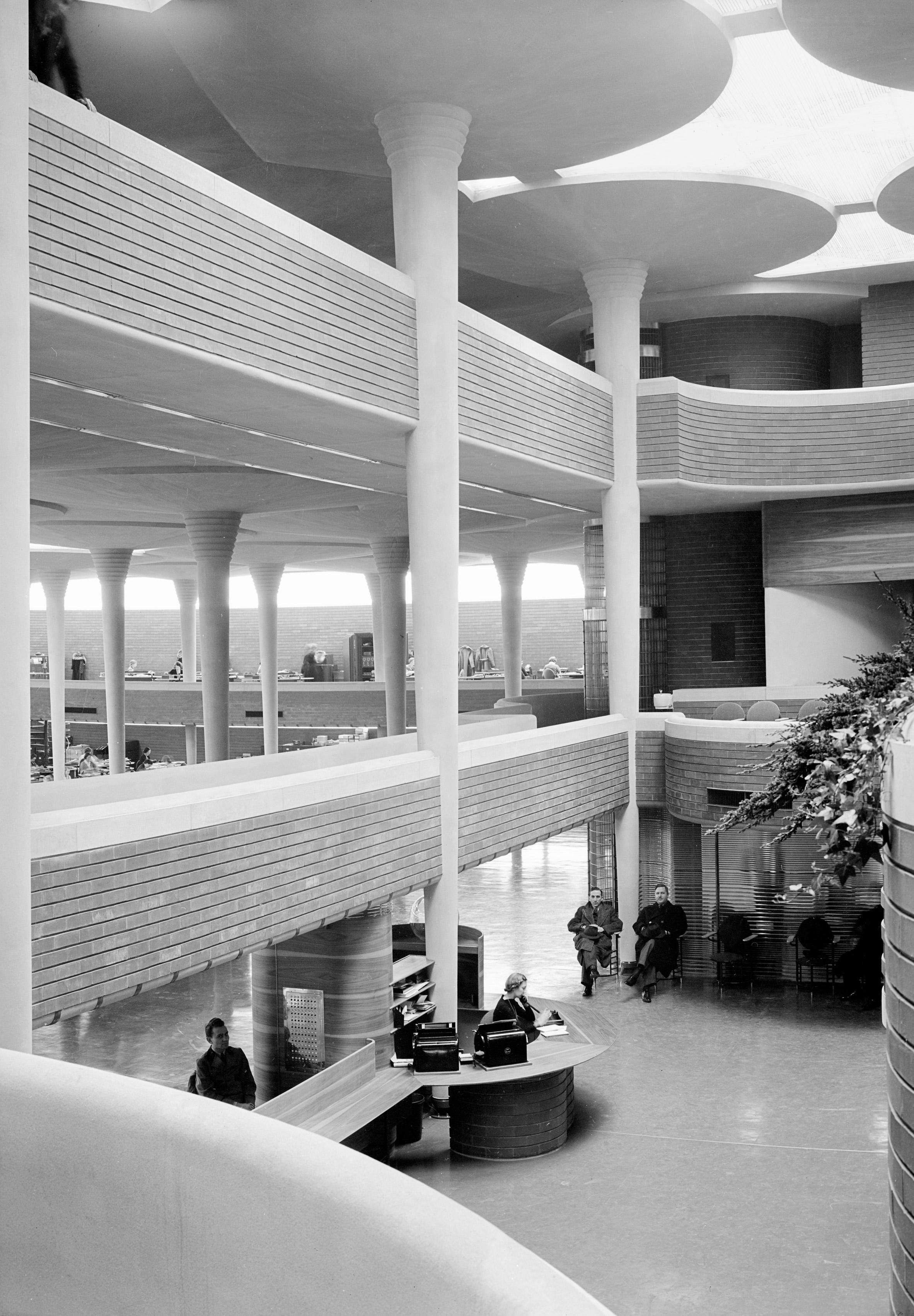 SC Johnson Administration Building, Frank Lloyd Wright