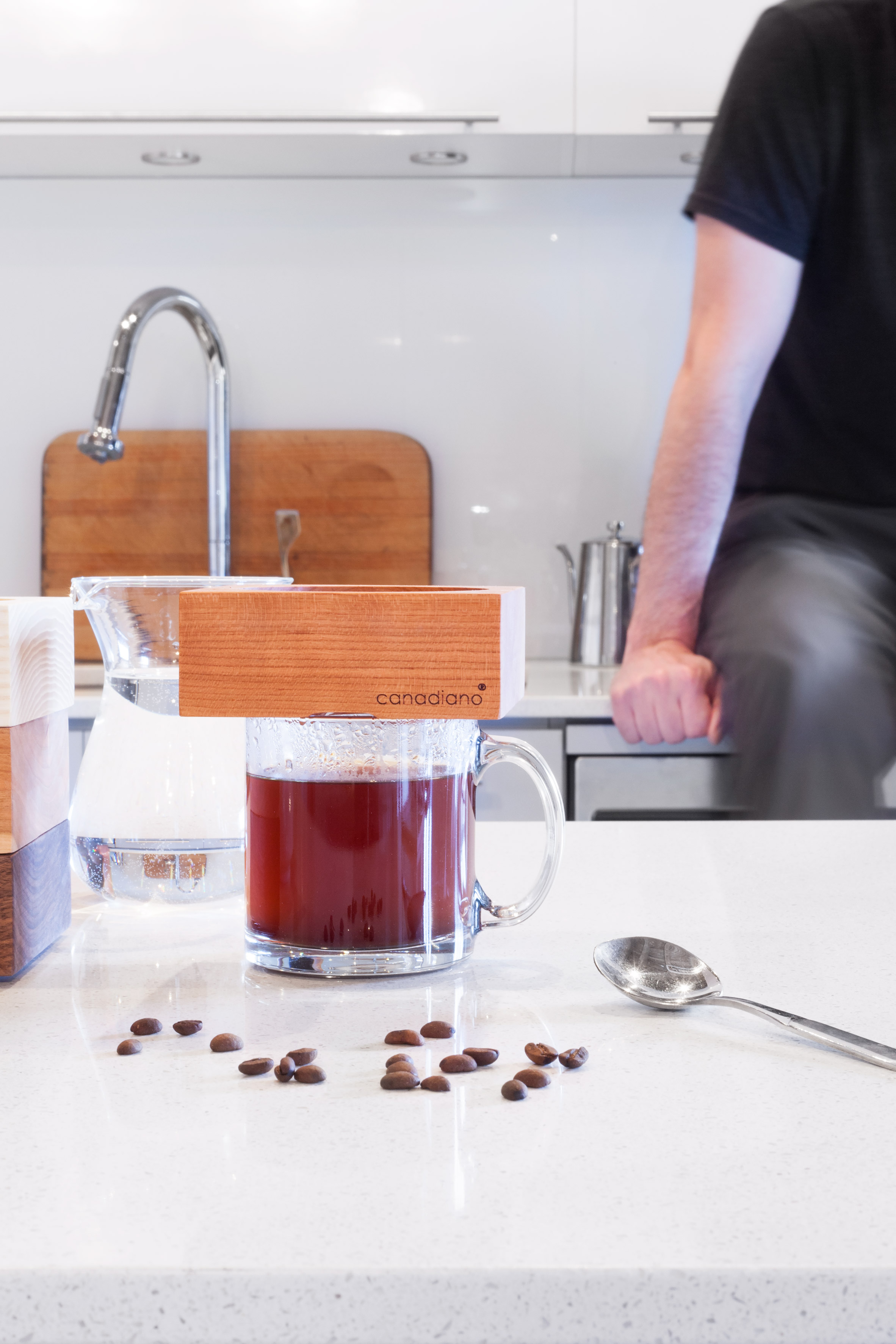 Competition: win a coffee maker crafted from a single block of wood
