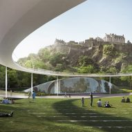 David Adjaye, BIG and Sou Fujimoto compete to build Edinburgh Ross Pavilion