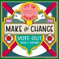 UK illustrators create visual messages urging people to go out and vote