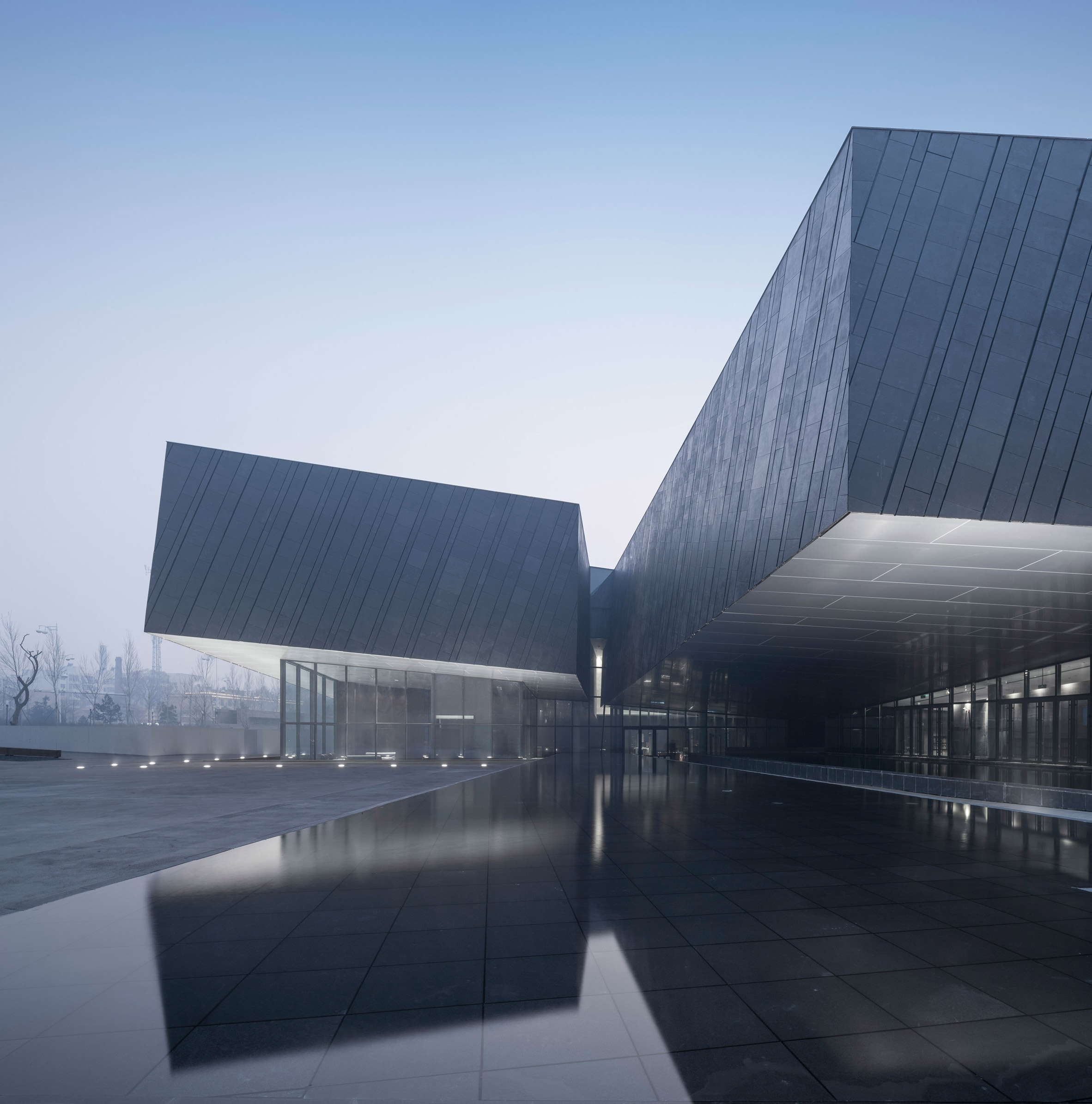 The Exhibition Hall of Crime Evidences in Harbin by He Jingtang