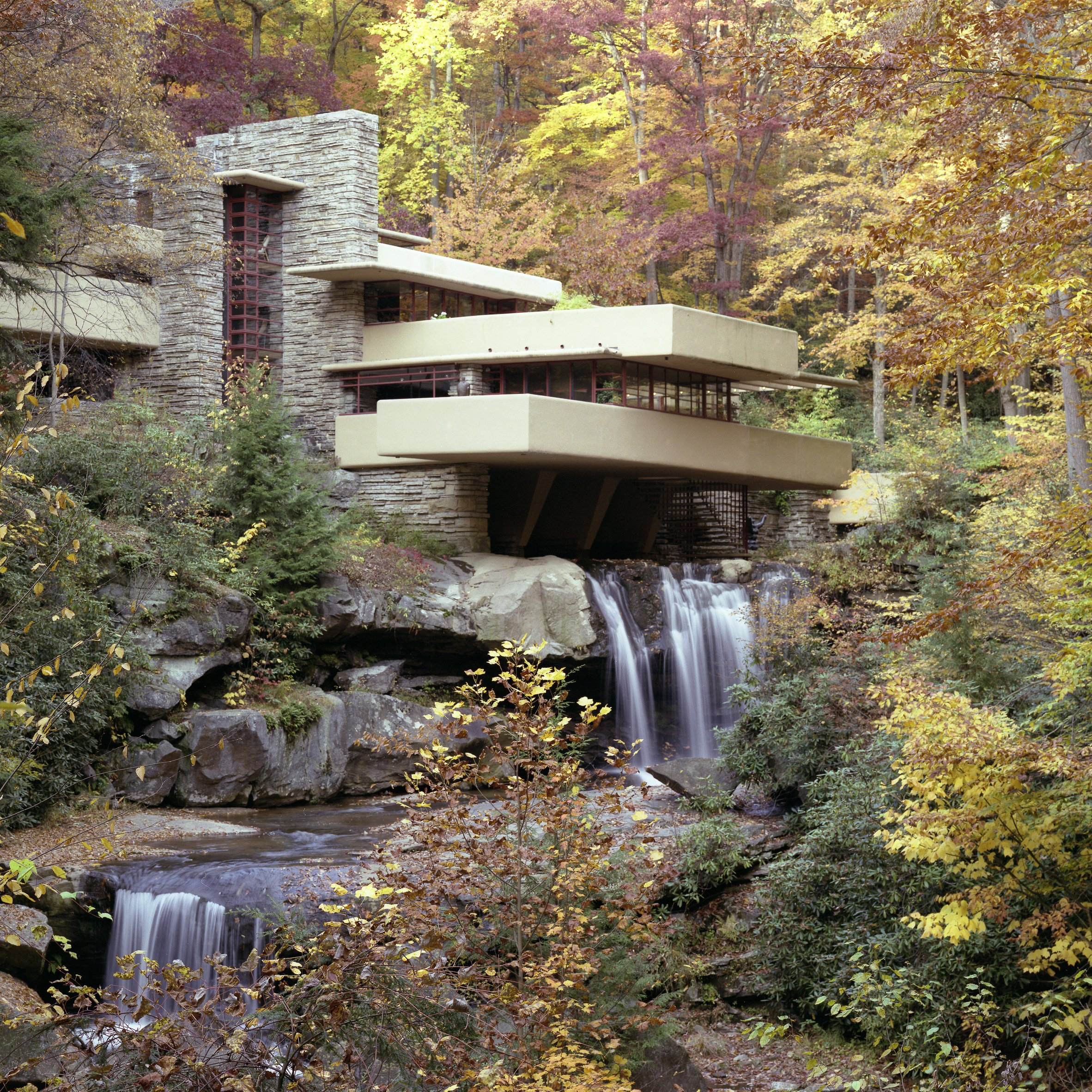 Frank Lloyd Wright Integrates Architecture Into Nature At Fallingwater