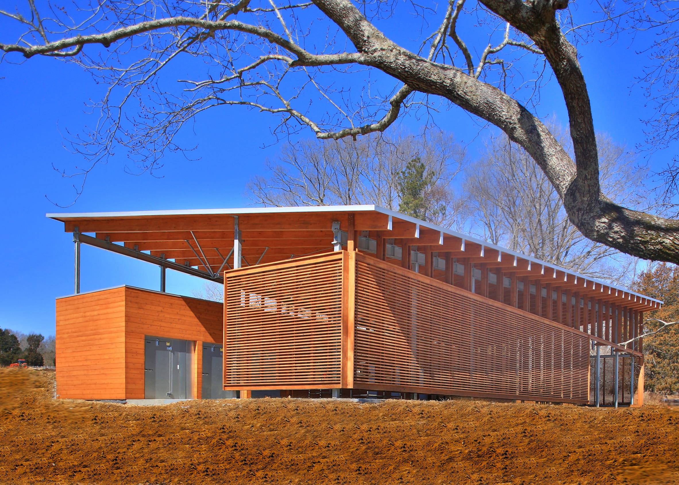 Funny Girl Farm Produce Barn, Durham, North Carolina, by Szostak Design